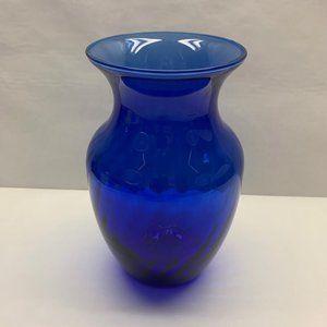 Indiana Glass Cobalt Blue Vase